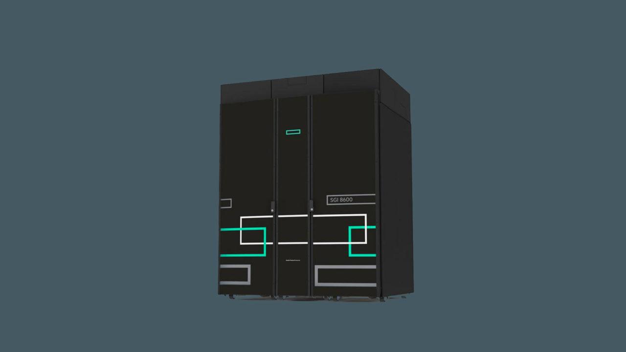 Il sistema HPE SGI 8600 g