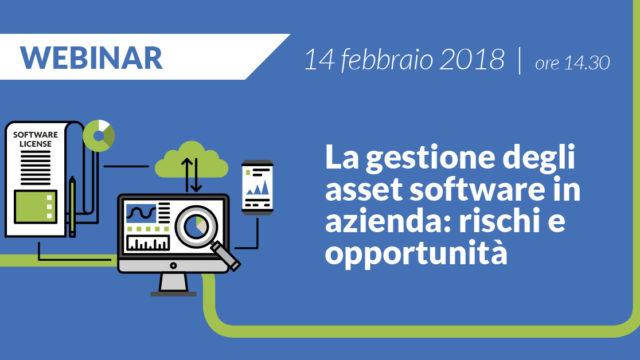 Webinar su software asset management (SAM)