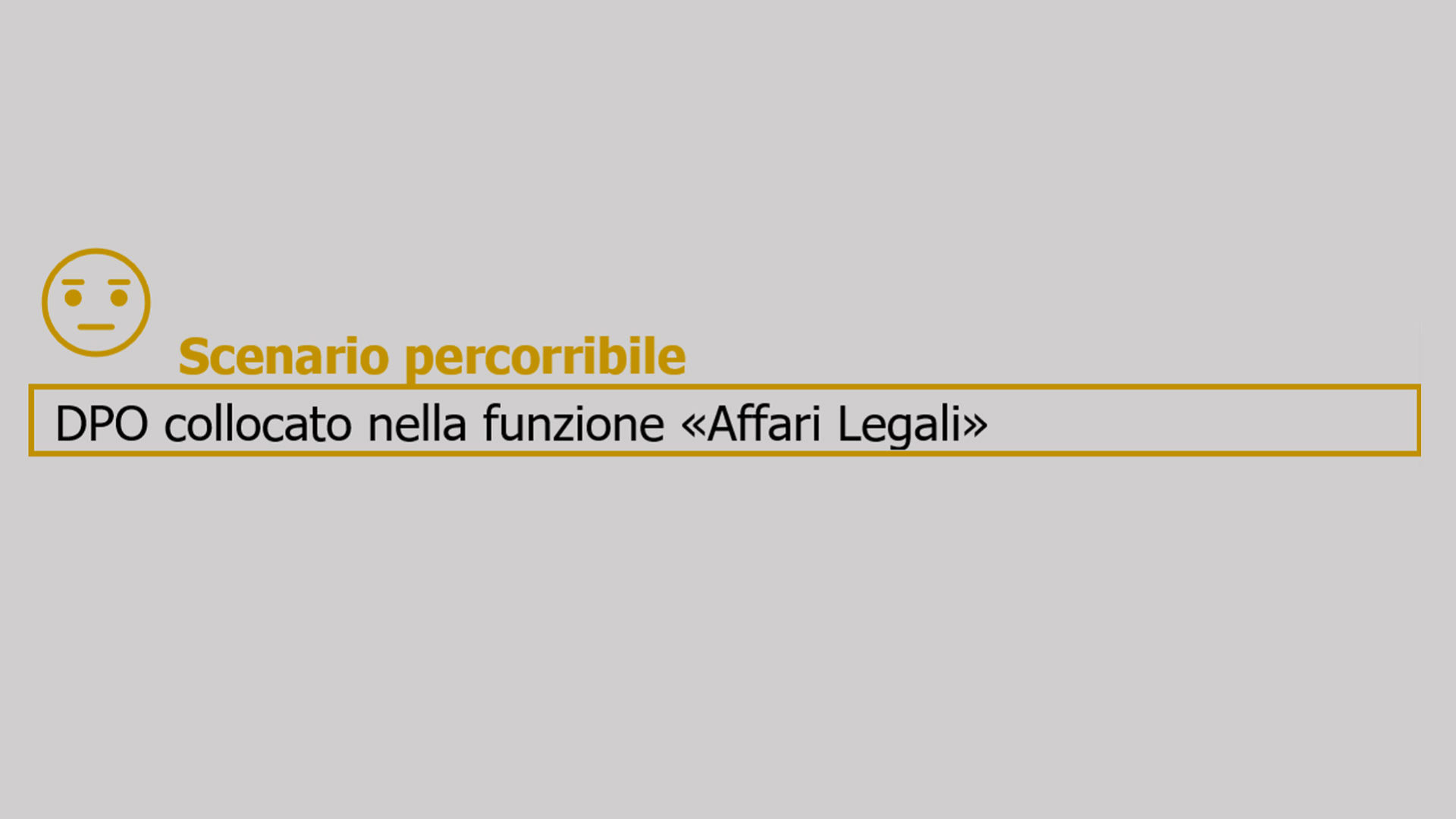 gdpr dpo scenario percorribile