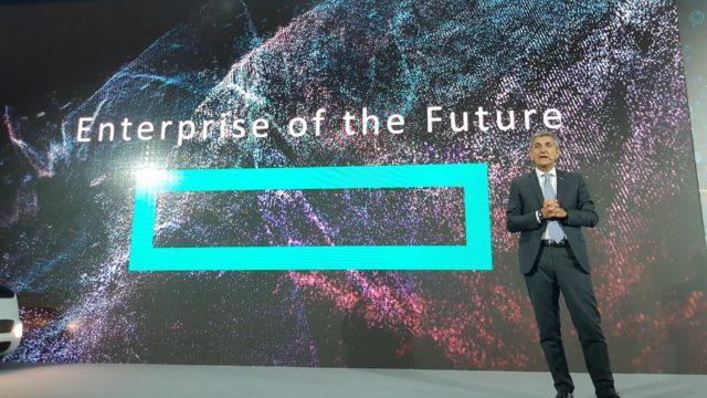 Foto del keynote speech di Stefano Venturi
