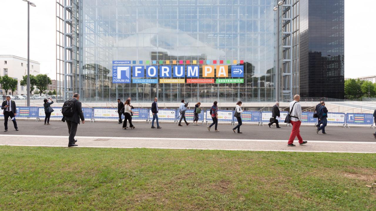 Foto dell'ingresso di Forum PA 2018