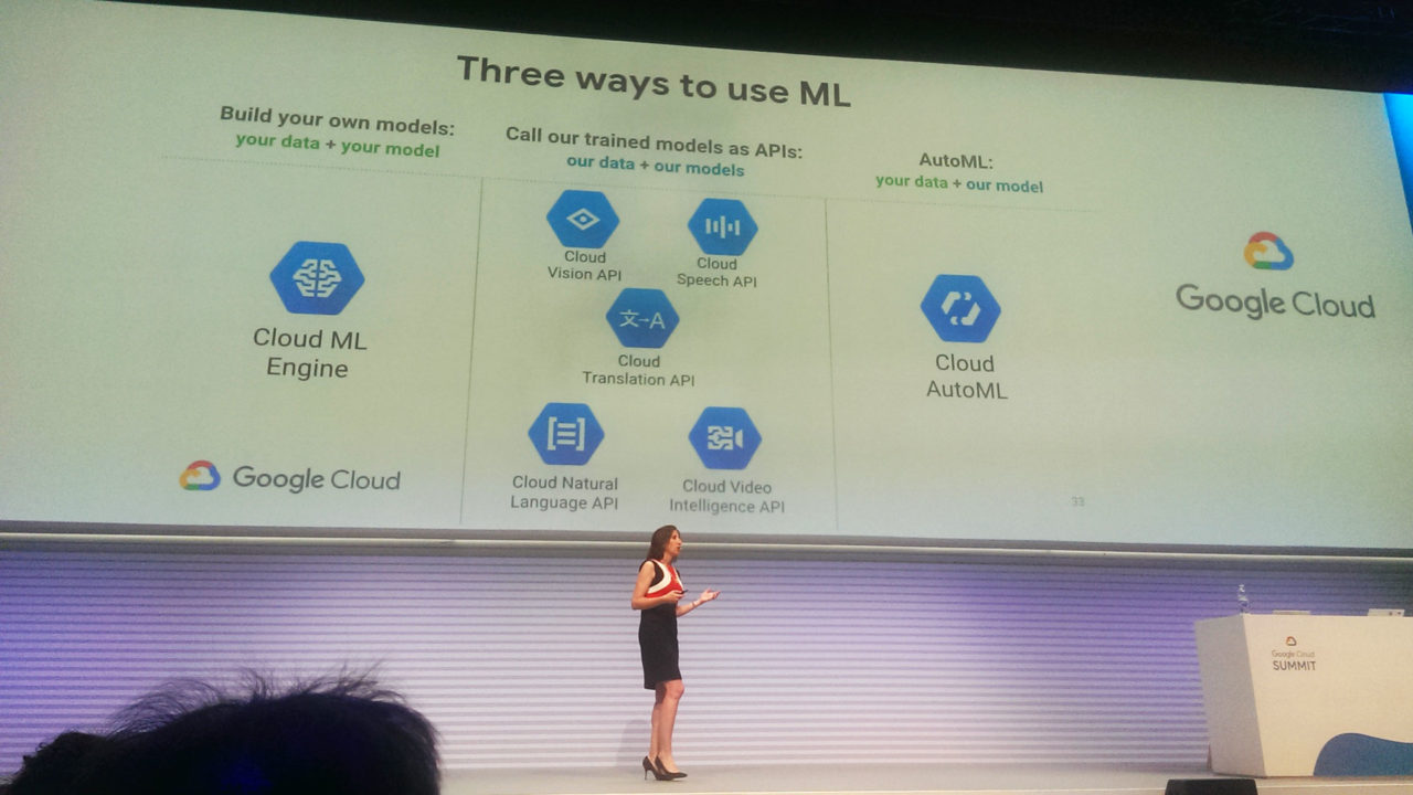 Il discorso di Alison Wagonfeld al Google Cloud Summit