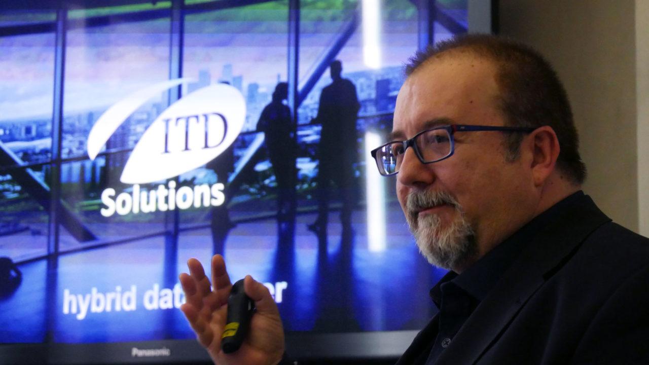 Sergio Ajani, head of Solution Unit Hybrid Data Center di ITD Solutions