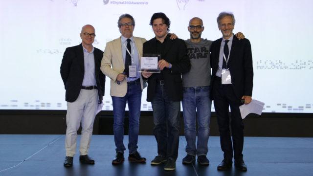 Foto della premiazione di Assirecre Consulting
