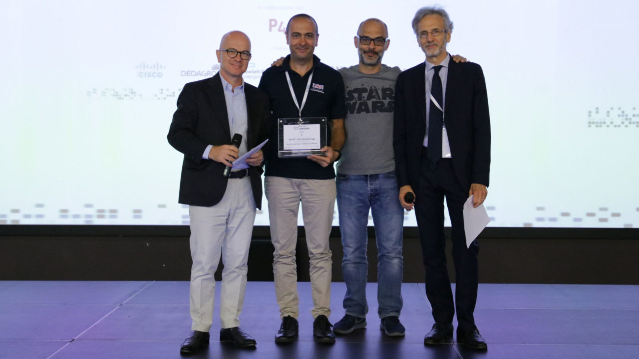 foto premiazione digital360 awards da-rt