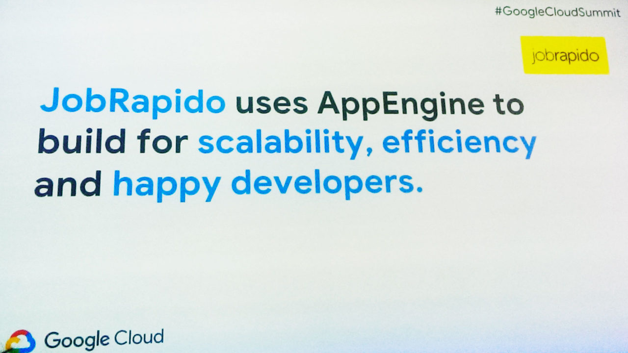 App engine jobrapido