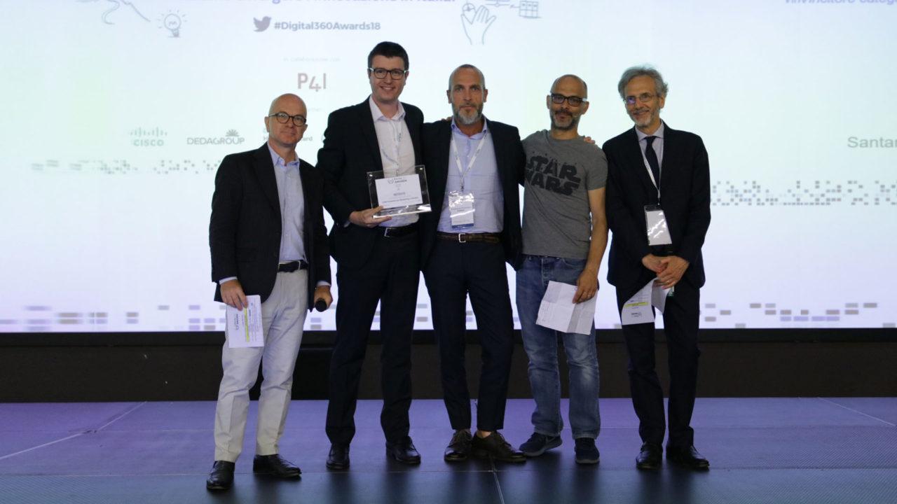 foto della premiazione intesys digital360 awards 2018