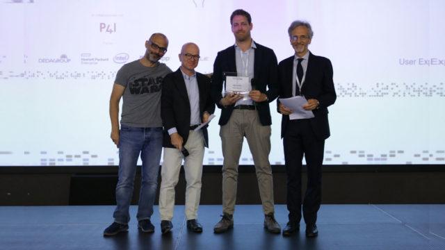 Foto della premiazione di Appquality