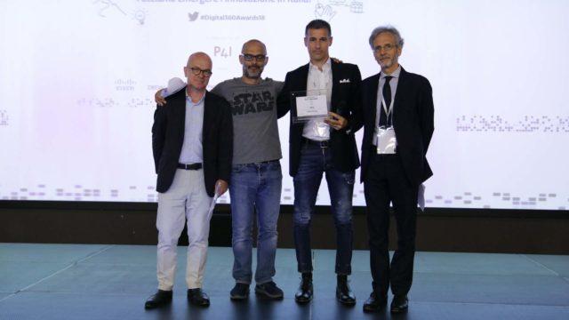 Foto della premiazione di WIIT