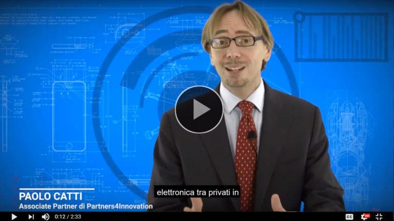 immagine di copertina del video con paolo catti sulla fatturazione elettronica