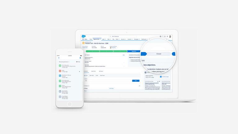 Immagine di Salesforce Sales Cloud