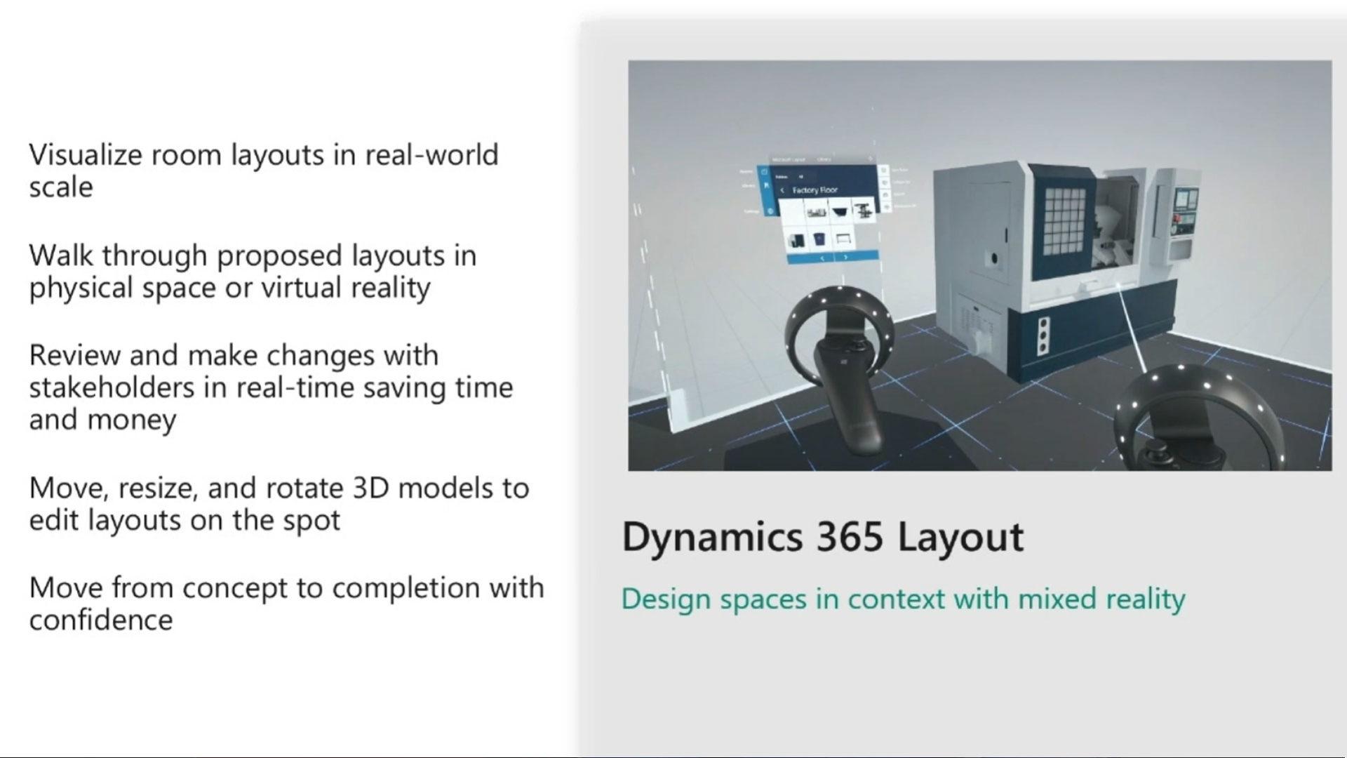 Esempio di funzionamento di Dynamic 365 Layout