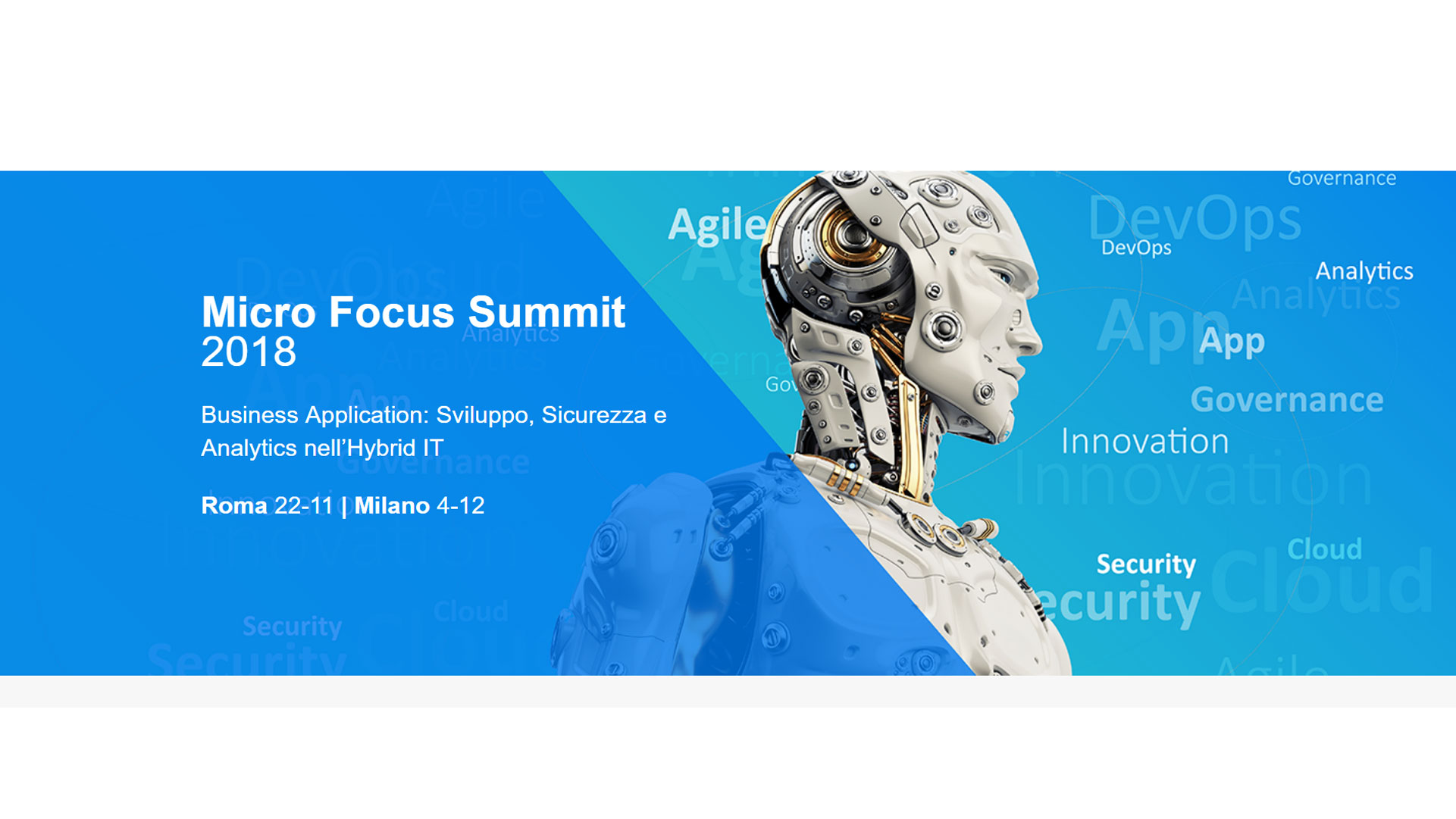 Micro Focus Summit 2018: approfondimenti e confronti sui temi caldi della trasformazione | ZeroUno
