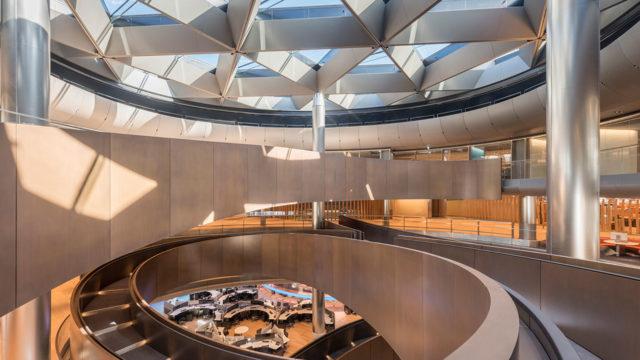la sede Bloomberg di Londra