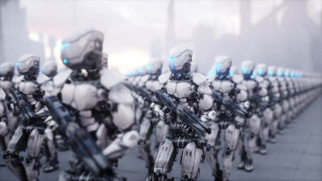 concetto di Intelligenza artificiale e Intelligent Weapons