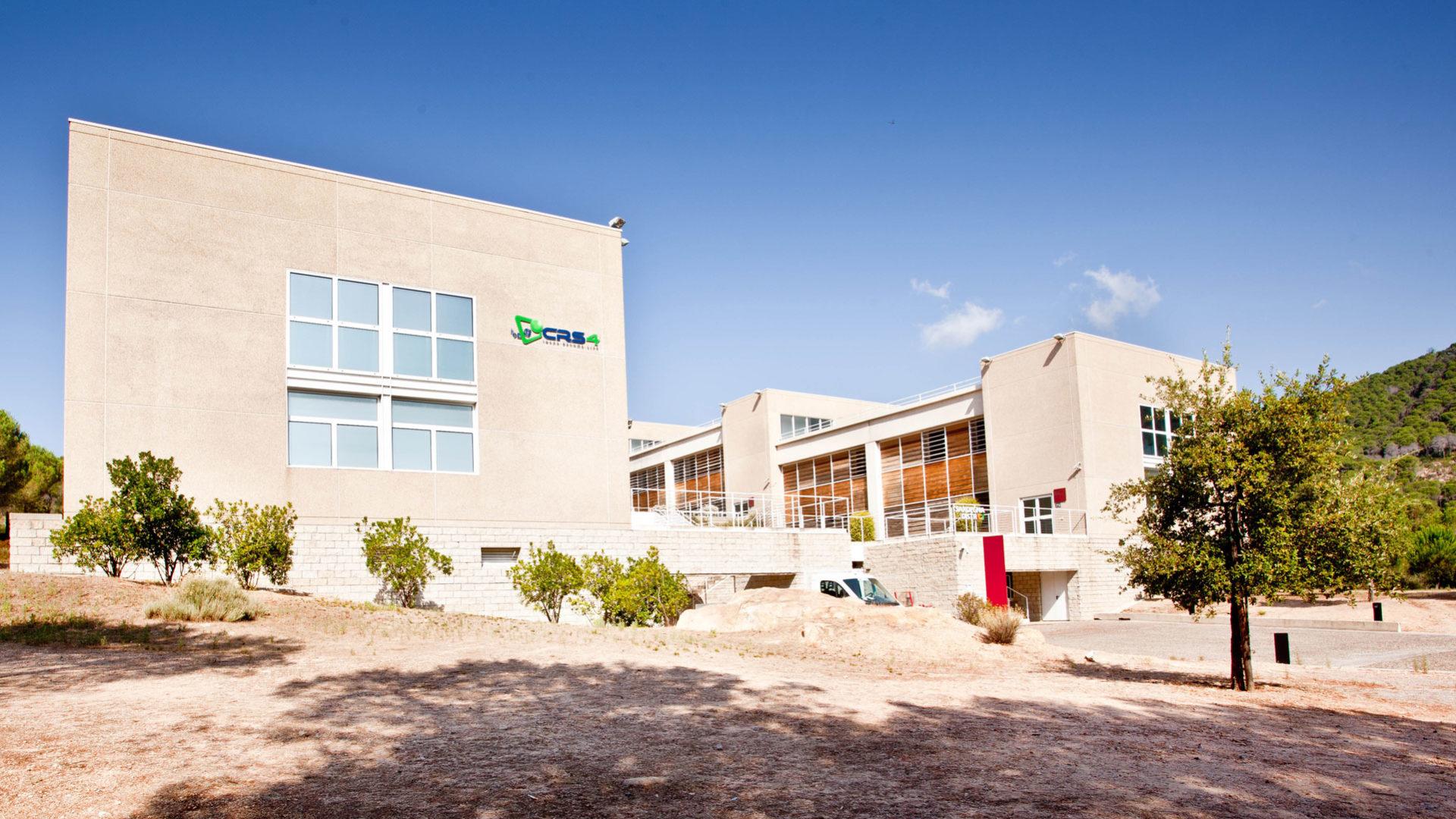 foto con alcuni edifici del crs4