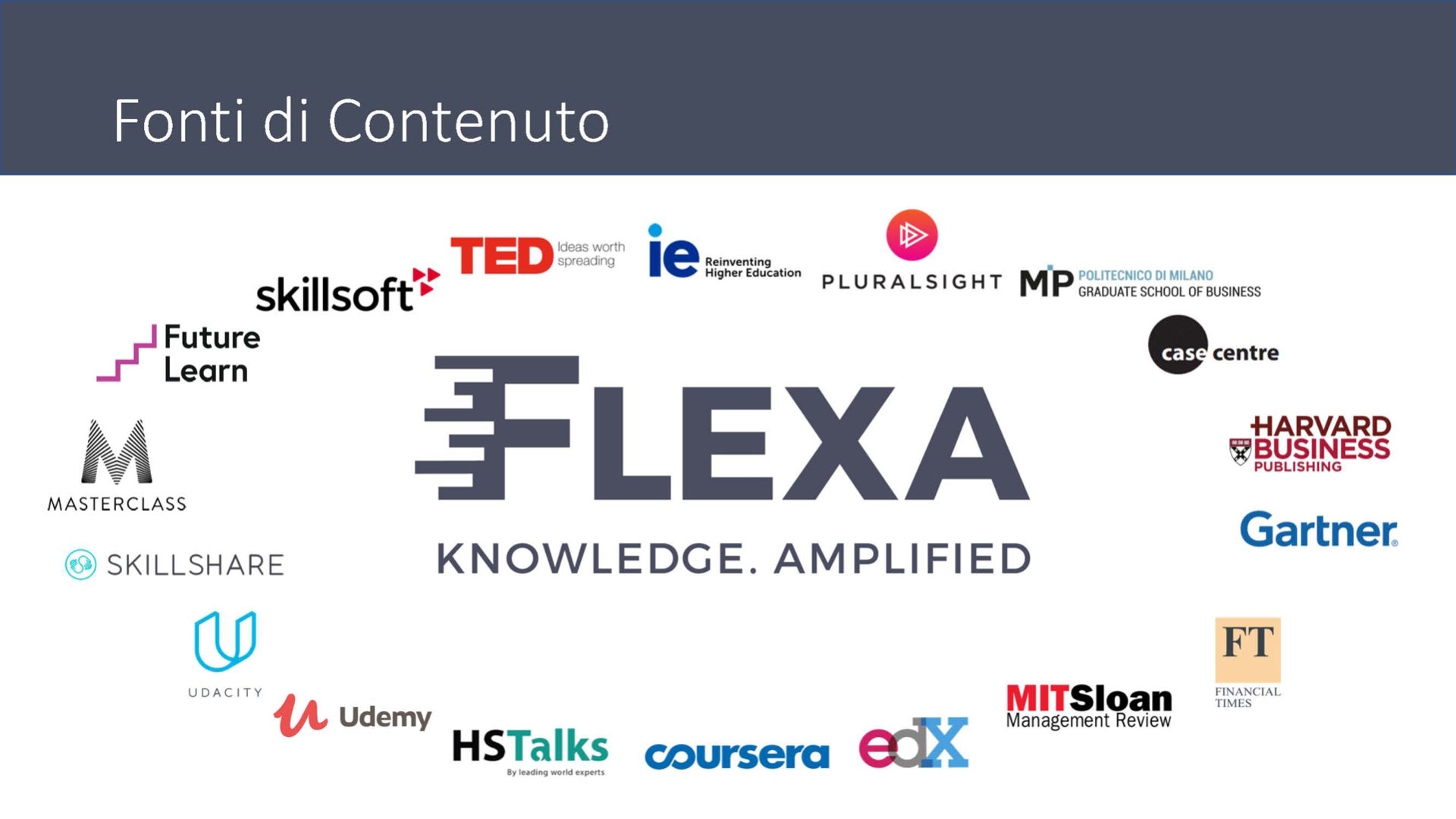 Foto contenuti Flexa