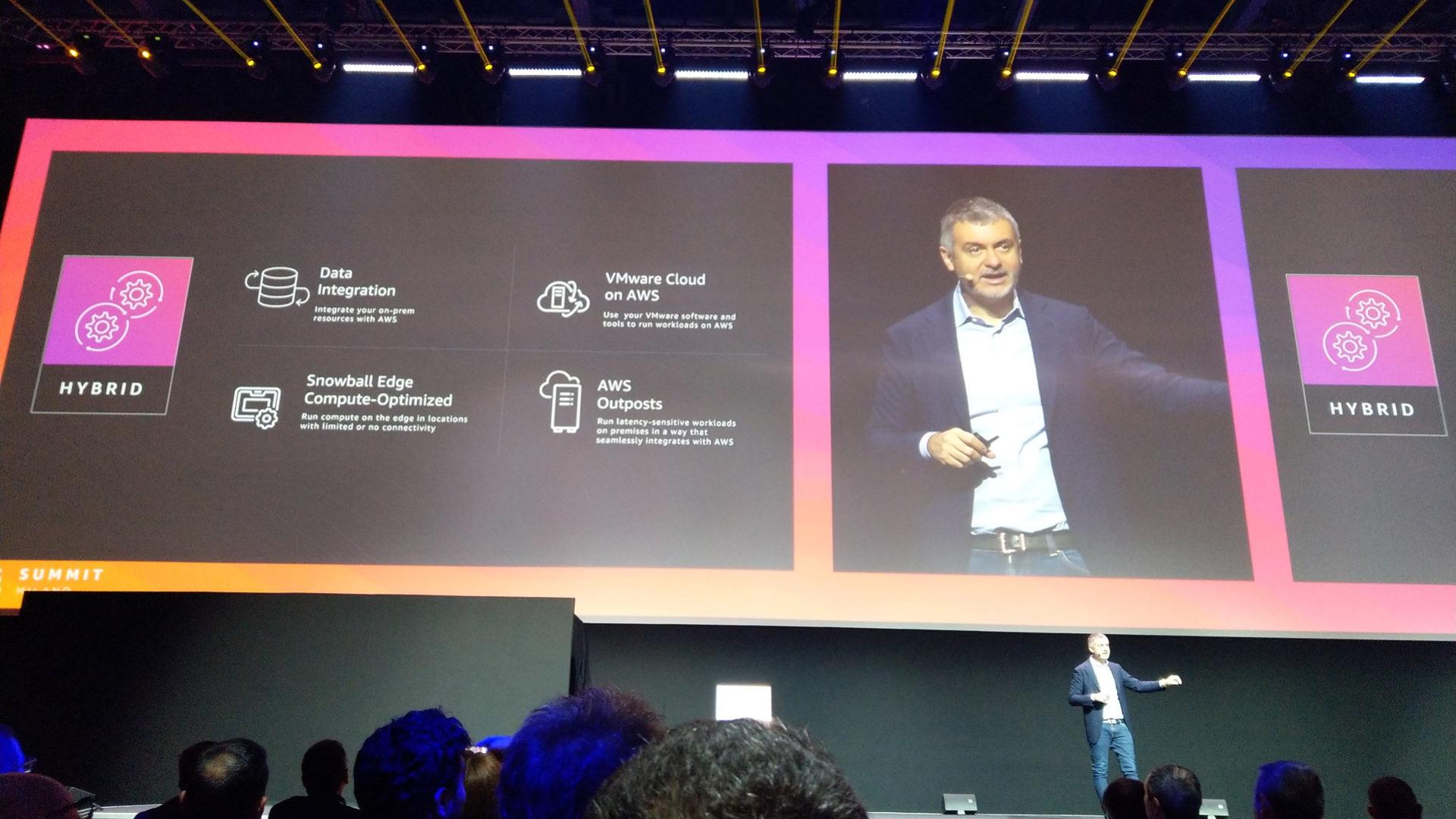 foto Alcuni servizi AWS per il cloud ibrido