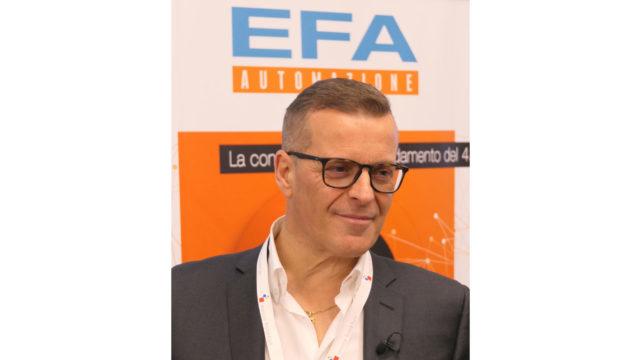 foto di Franco Andrighetti, Managing Director di EFA Automazione