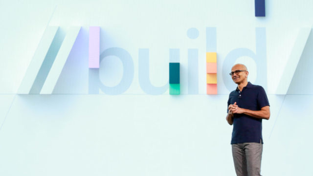 Nadella a Microsoft Build 2019
