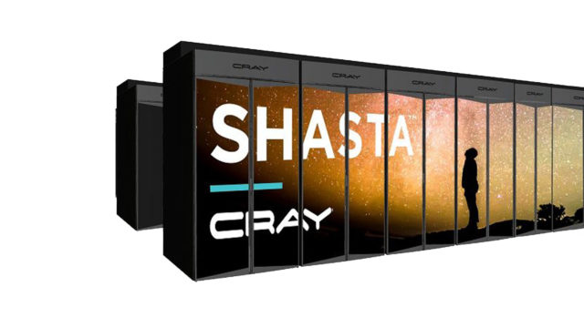 L'exascale supercomputer Shasta di Cray