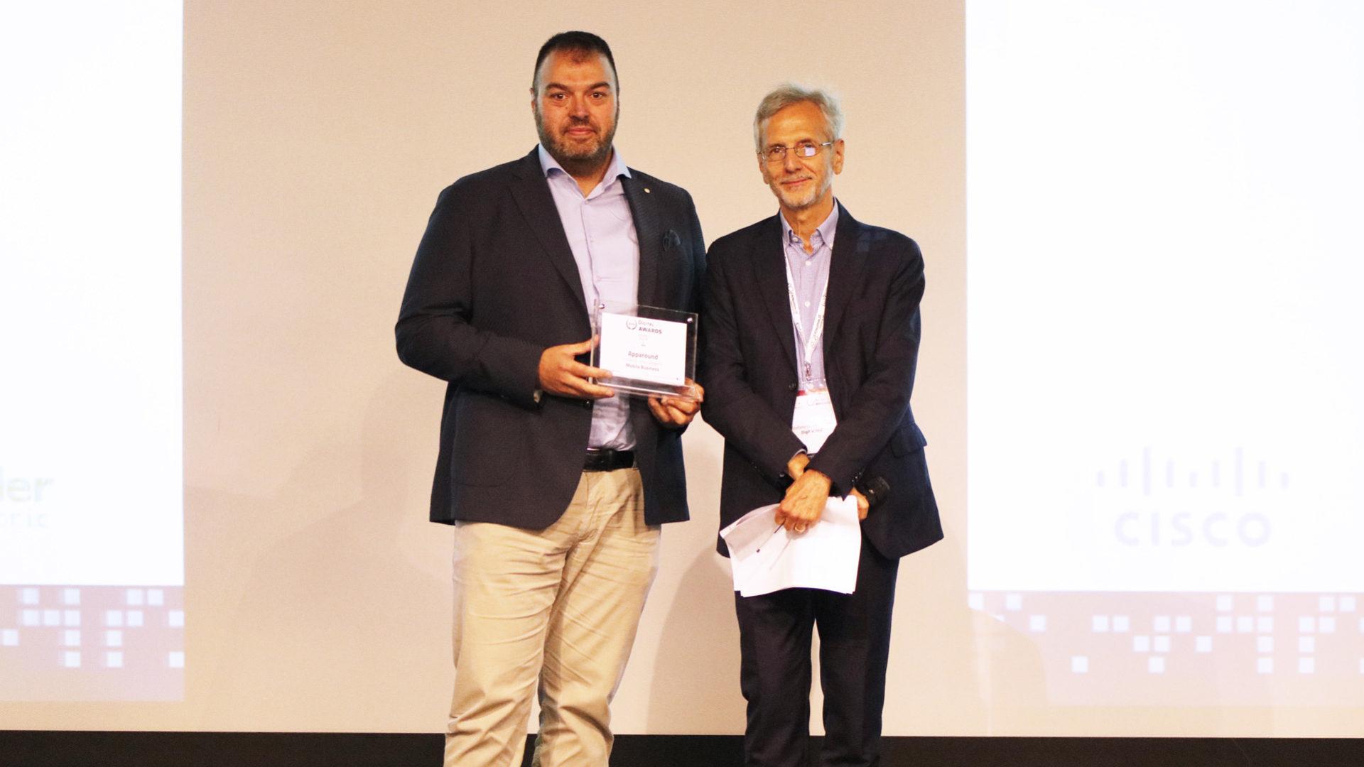 apparound mobile business premiazione