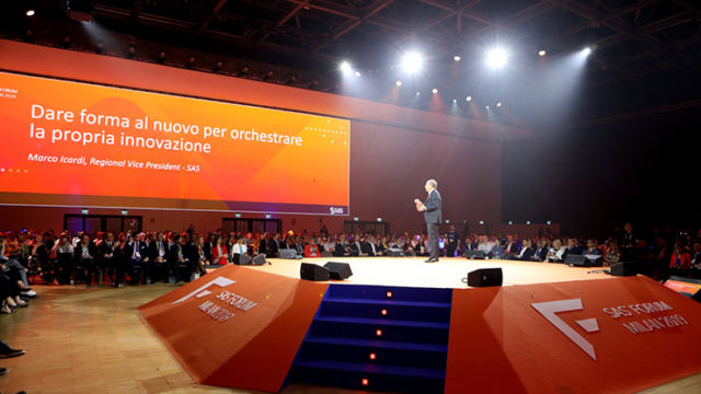 Marco Icardi al SAS Forum Milan 2019