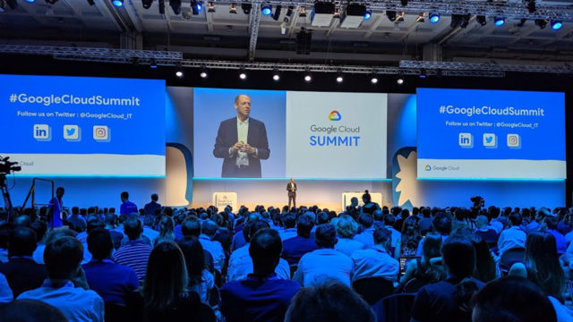 fabio fregi al google cloud summit 2019