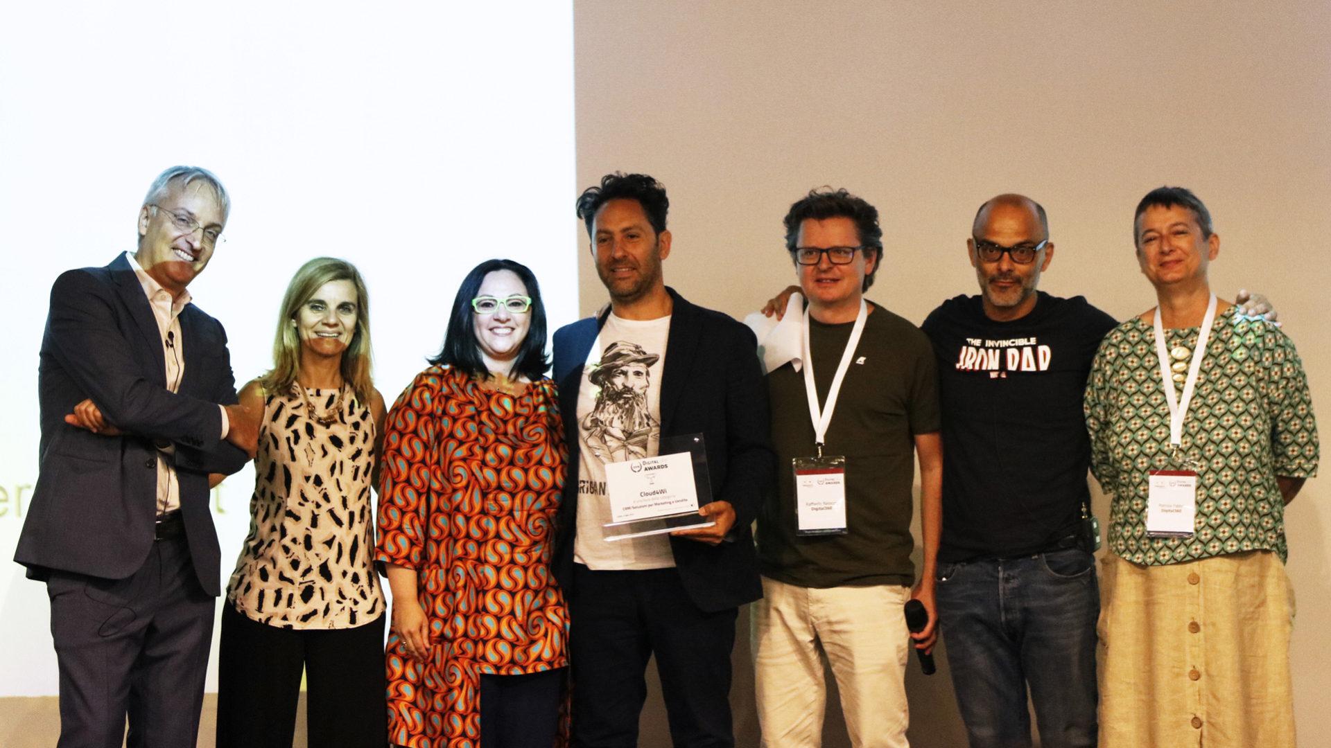 la premiazione di cloud4wi crm