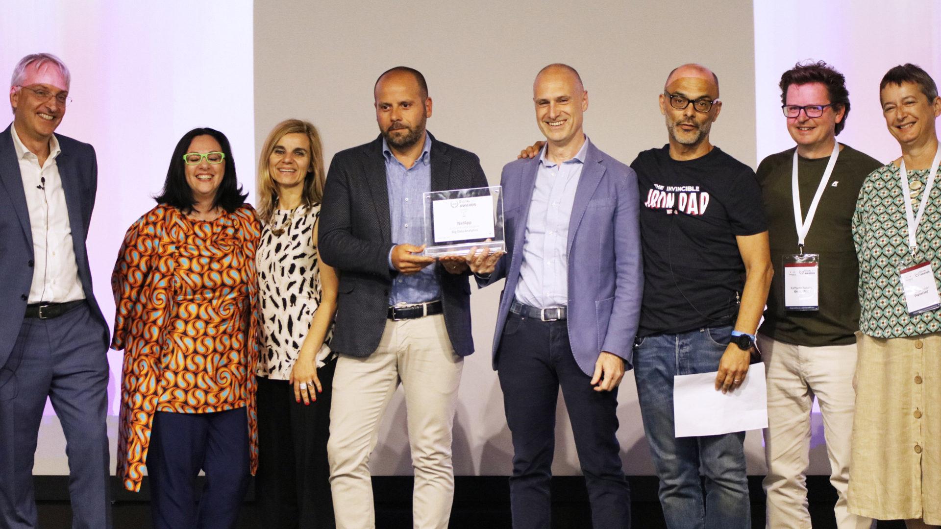 NetApp_BigDataAnalytics Digital360 awards 2019