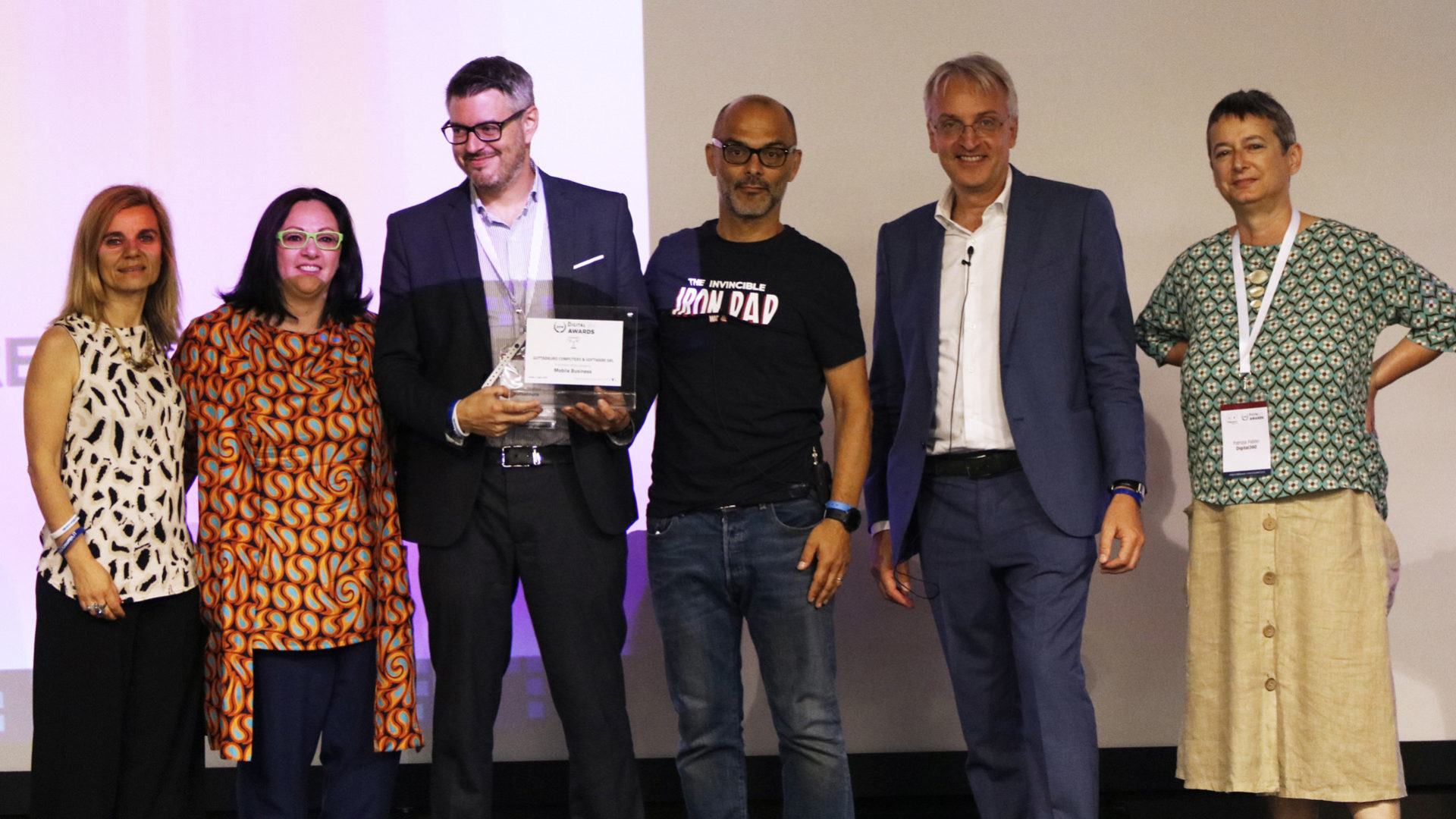 Guttadauro_MobileBusiness premiazione digital360 awards 2019