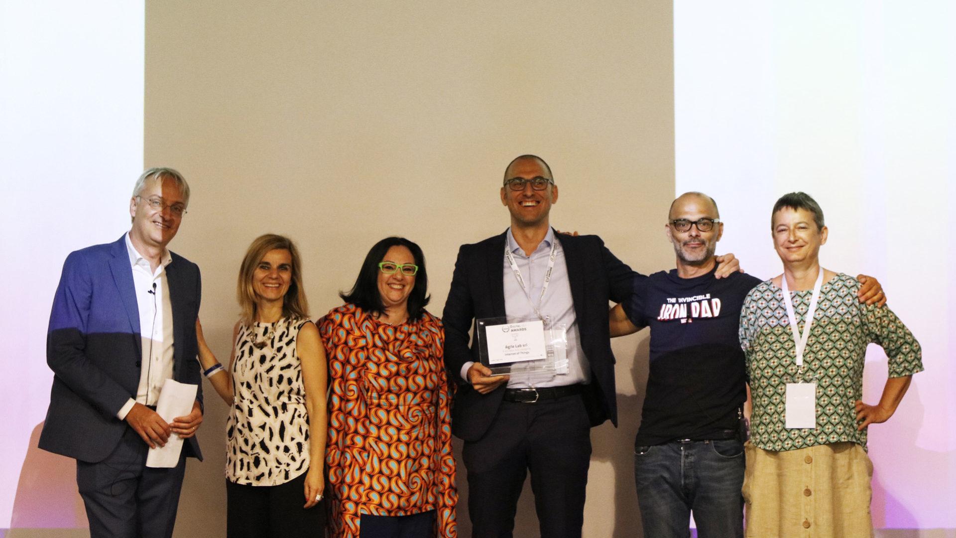 AgileLab_IoT premiazione digital360 awards