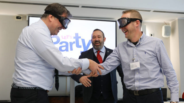 realtà virtuale al Richmond IT Director Forum