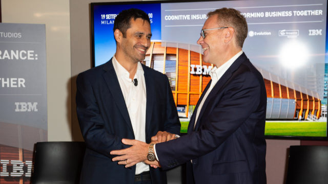 IBM Groupama Pierre Cordier - Enrico Cereda
