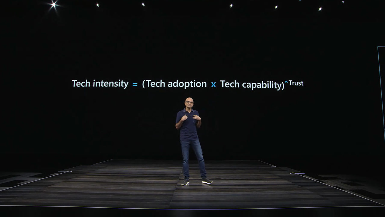 foto Satya Nadella, Chief Executive Officer Microsoft