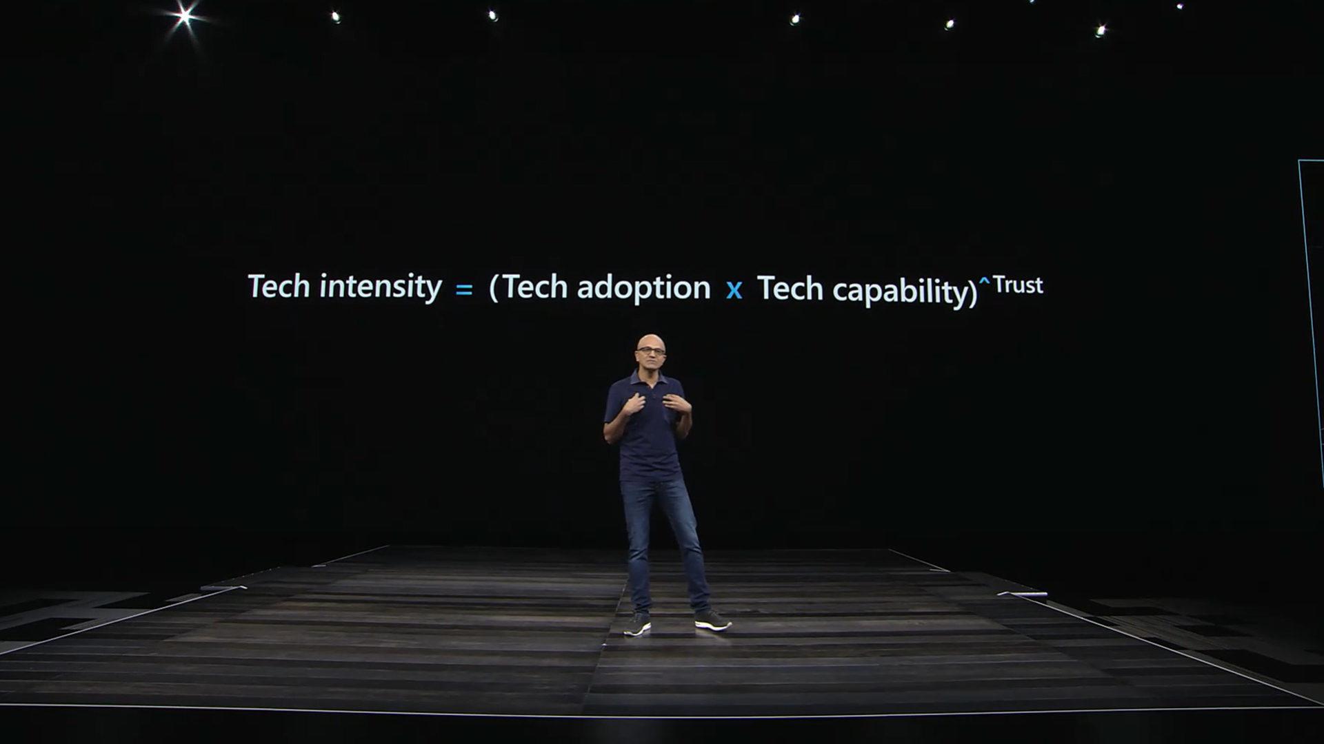 foto Satya Nadella, Chief Executive Officer Microsoft
