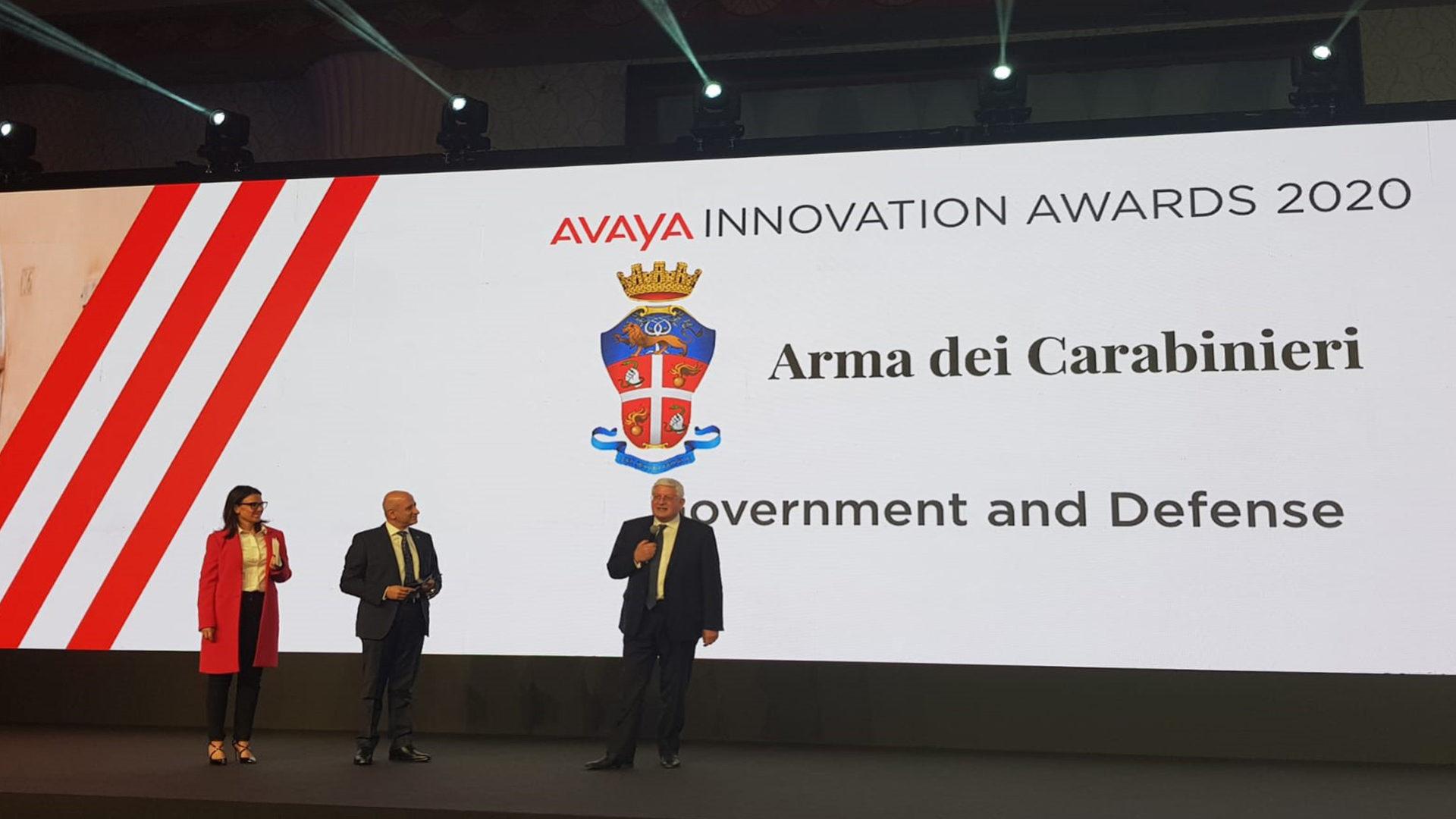 foto Avaya 2019 Arma Carabinieri