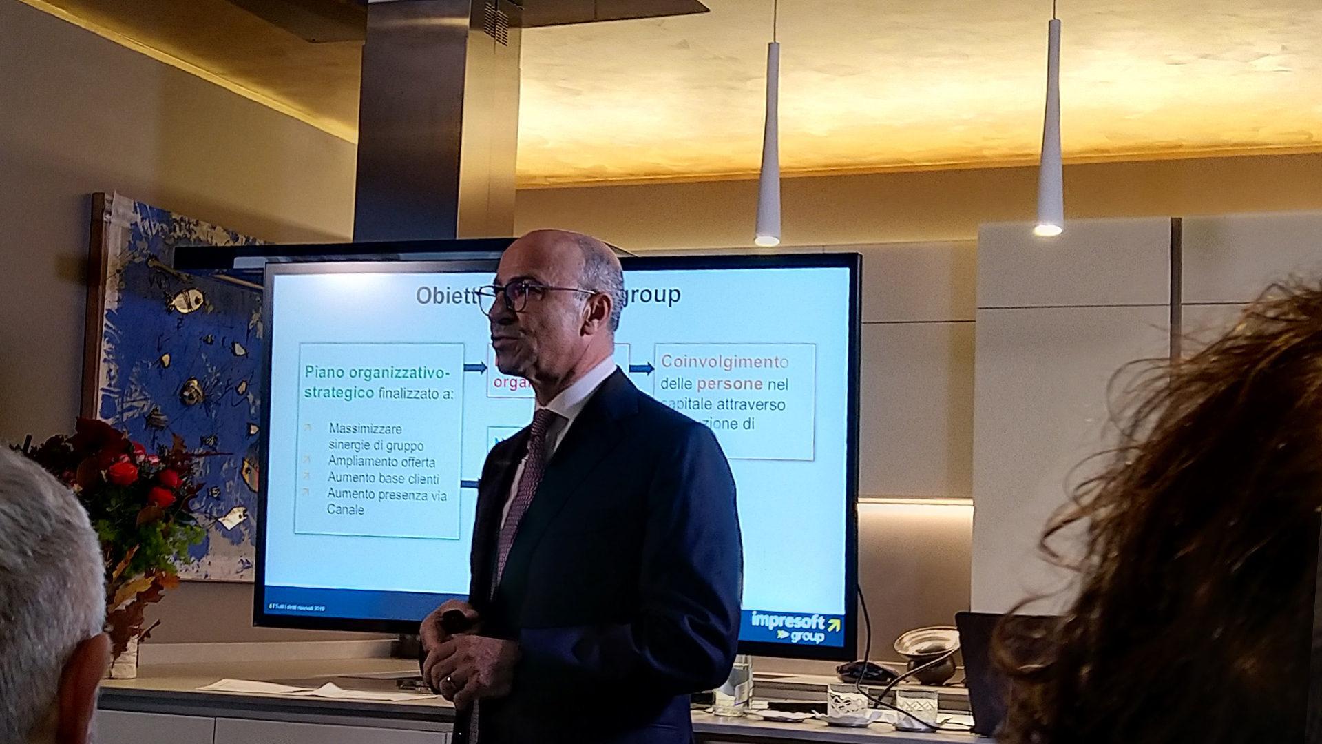 1 Antonello Morina, presidente di Impresoft Group
