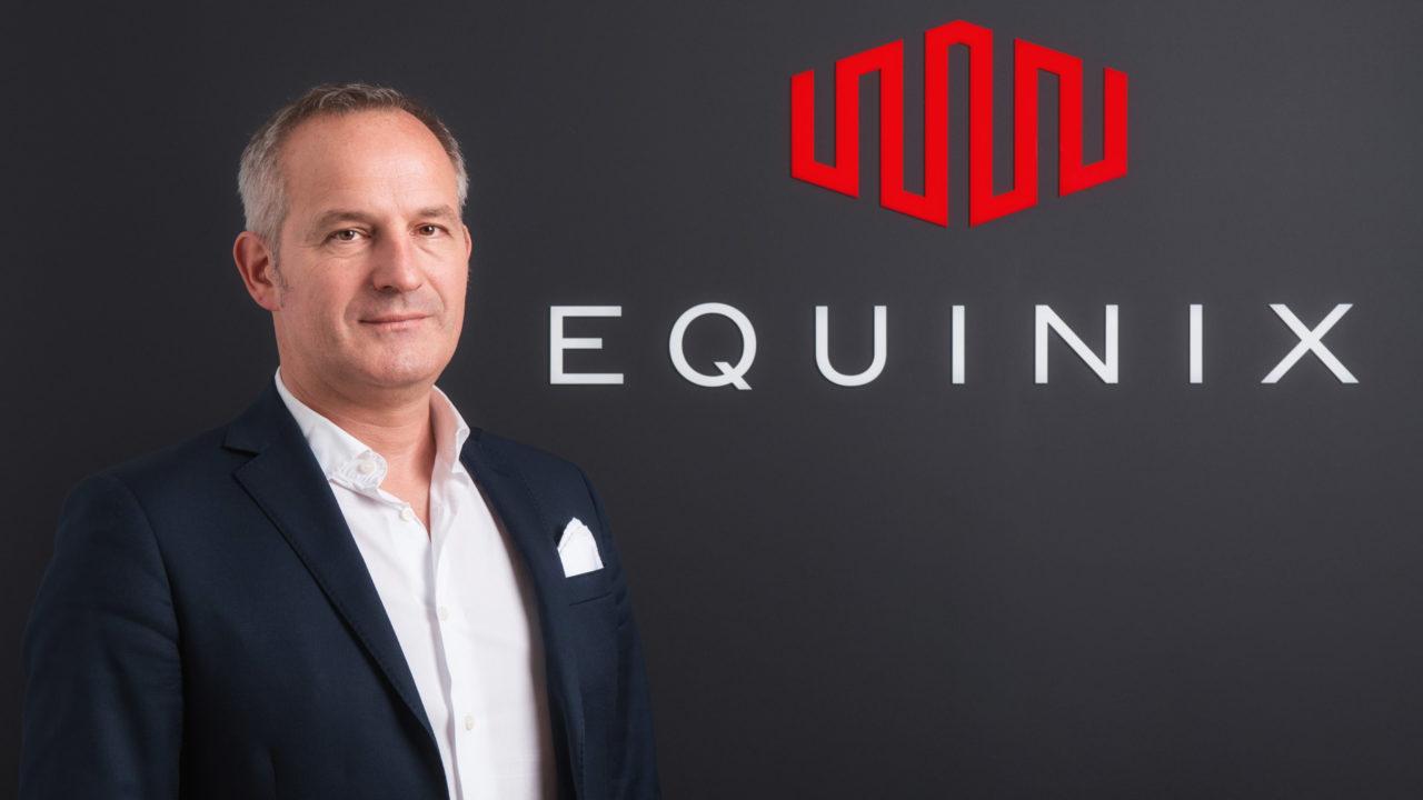 foto Emmanuel Becker, Equinix Managing Director Italy