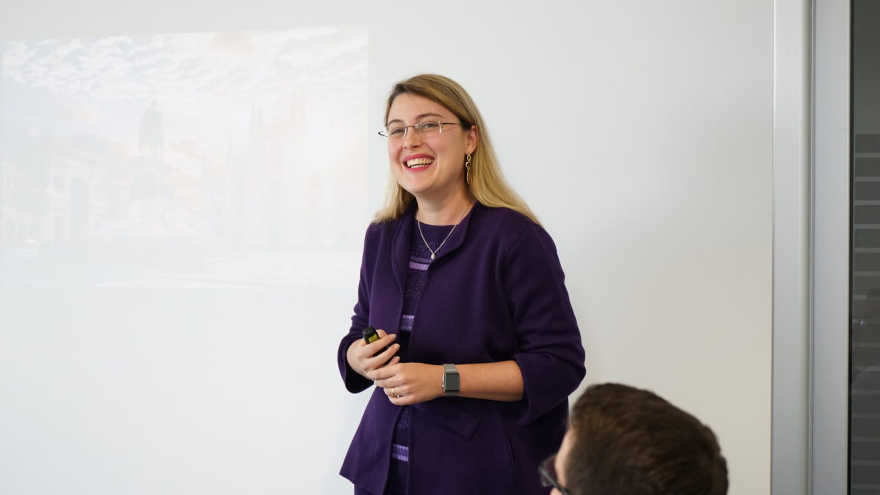 foto Elena Sangalli, Cloud Platform Sales Manager