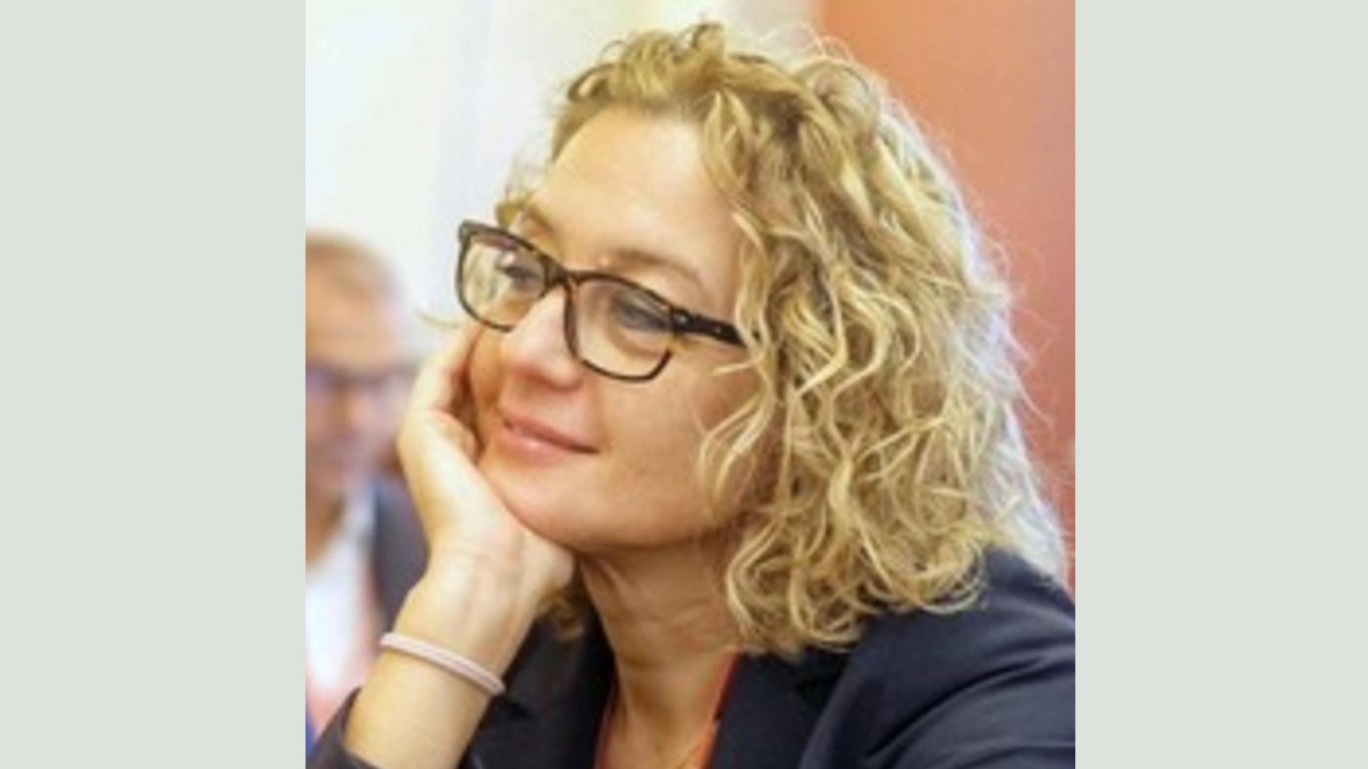 foto Alessandra Chiuderi presente alla tavola rotonda dove, tra l'altro, si è parlato di approccio data driven