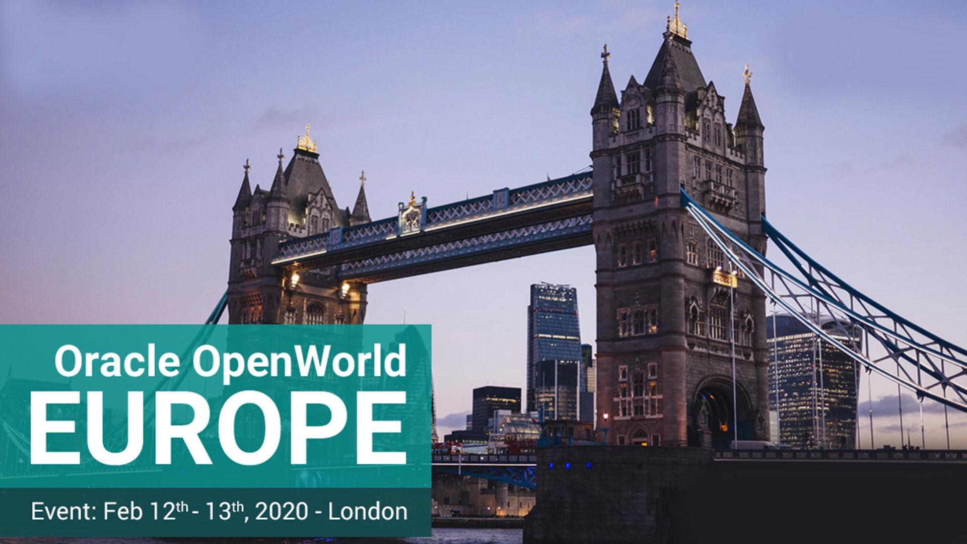 foto Oracle Europe