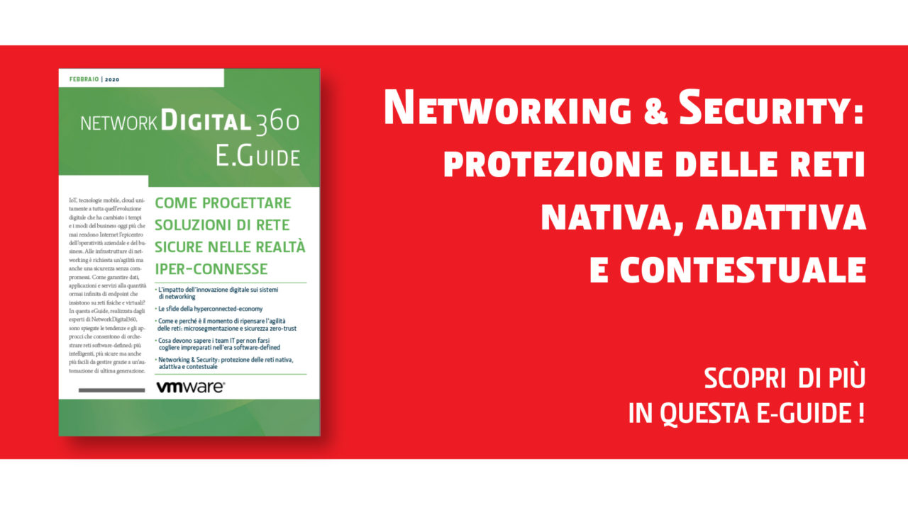 Networking e Security bottone