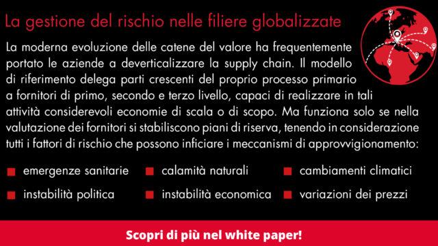 supply chain gestione delrischio