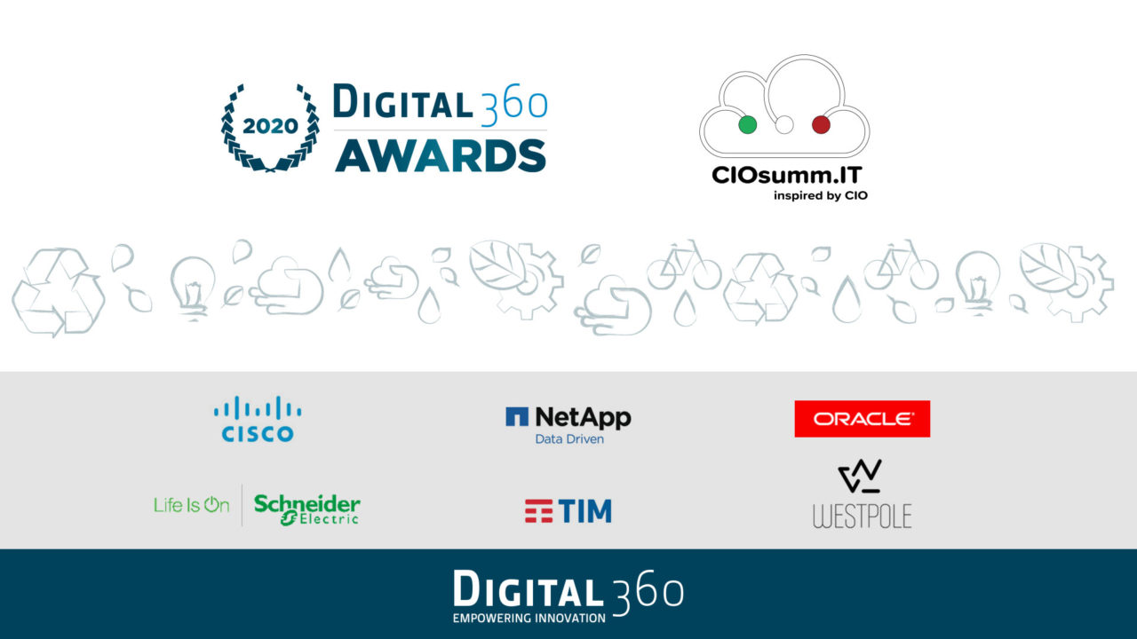 Digital360 Awards 2020 ecco gli sponsor