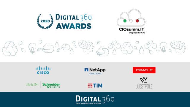 Digital360 Awards 2020 ecco gli sponsor