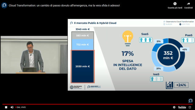 Oss Cloud Transformation intelligence del dato