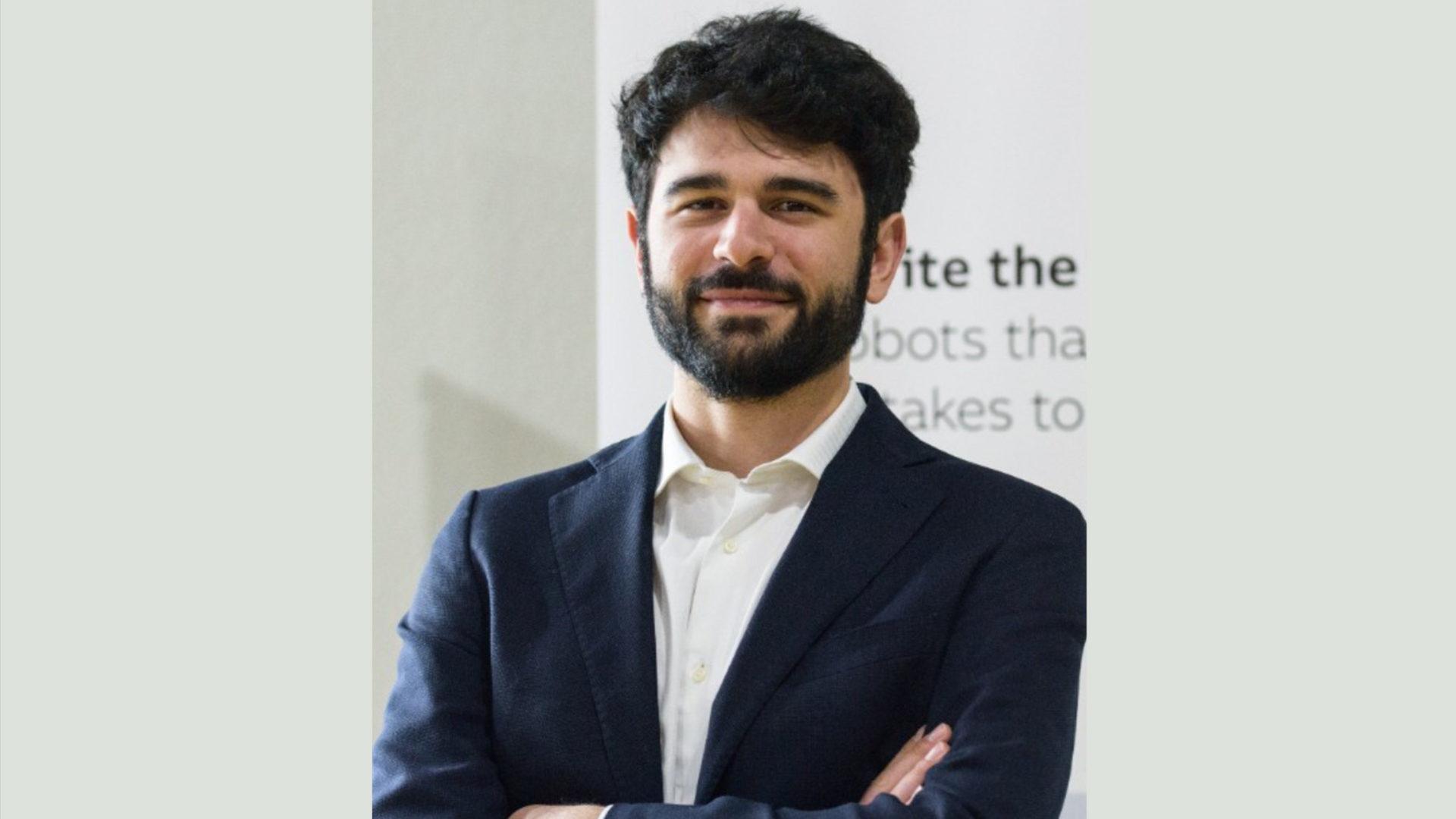 foto Valerio D'Angelo intervenuto a presentazione dati Osservaatorio 5G