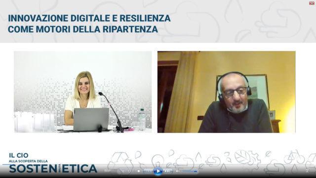 Alessandra Zamarra e Massimo Rosso