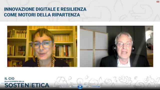 Patrizia Fabbri e Mariano Corso